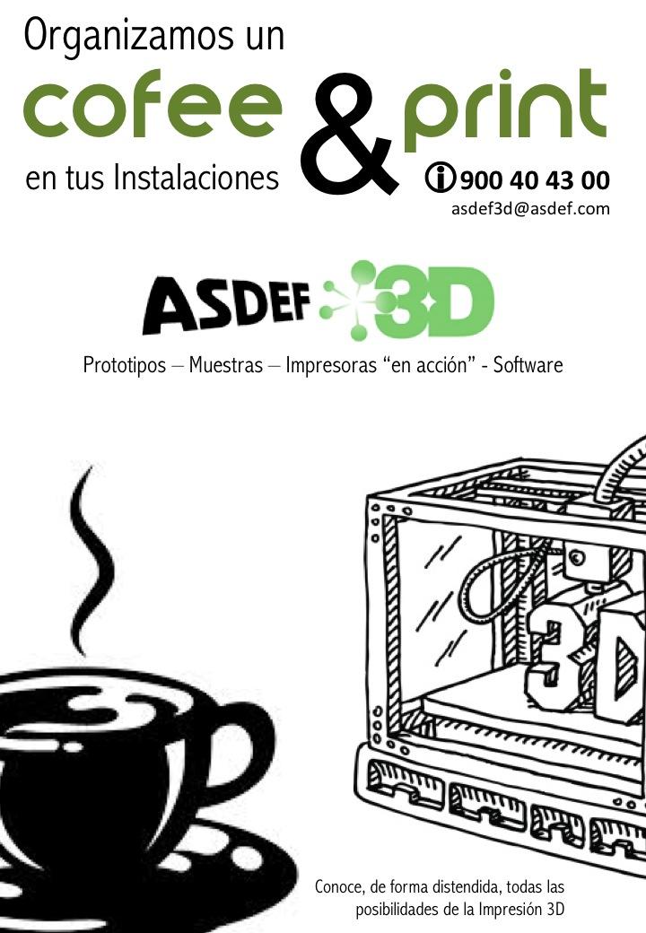 Nosotros ponemos las impresoras y scanner. ¿Nos invitan a un café?