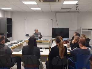 Las sesiones informativas son una oportunidad para conocer personalmente a los futuros alumnos/as