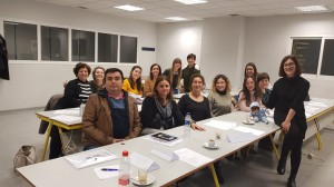 Alumnos/as del Curso Dolltherapy, impartido en Alcoy