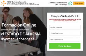 CampusOnlineCoronavirus es una iniciativa de ASDEF para la formación online